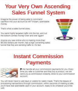 Wealth Ascension funnel system