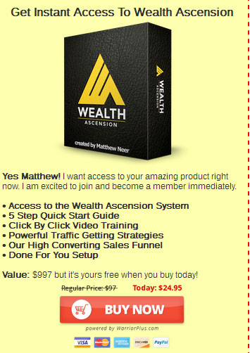 Wealth Ascension price