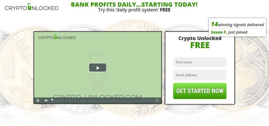Crypto unlocked scam