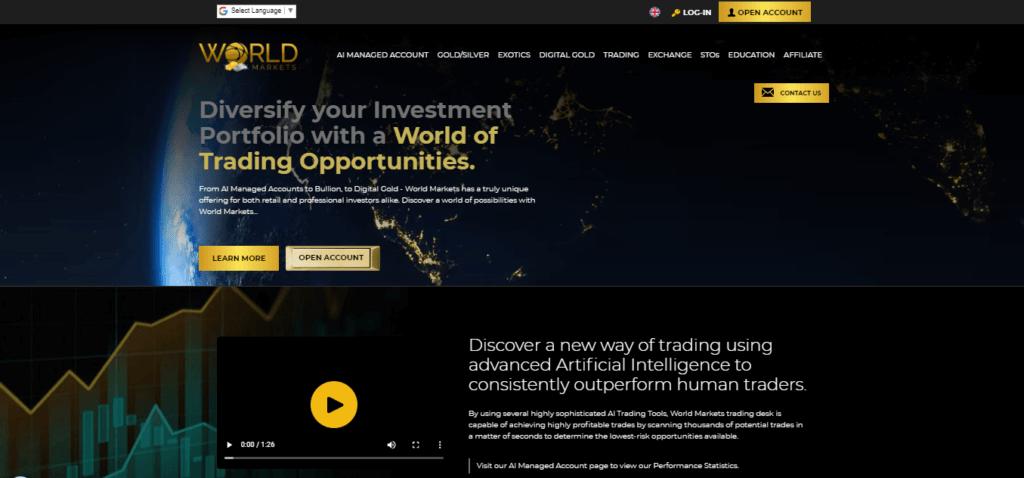 forex broker- World Markets
