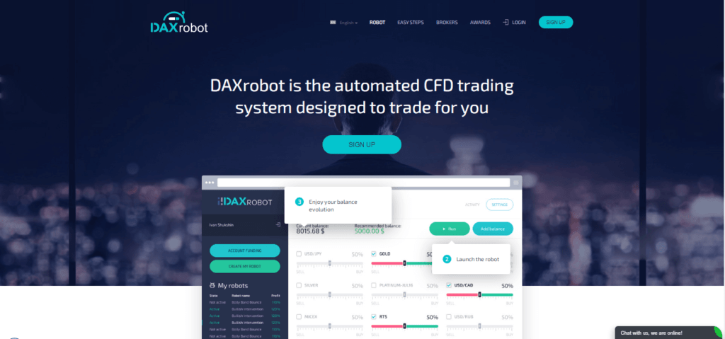Daxrobot Best Automated Crypto Trading Bots