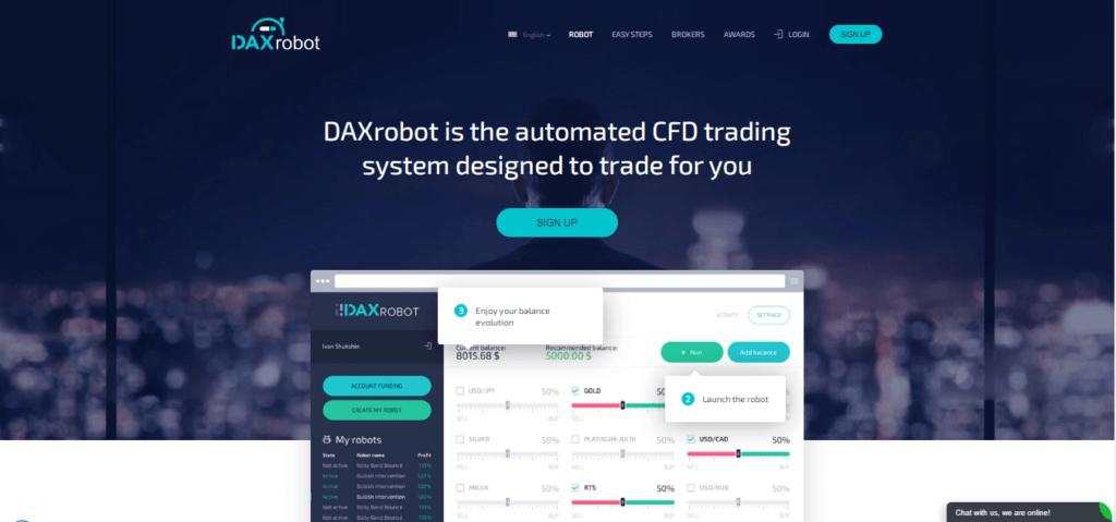 Daxrobot miglior robot di trading automatizzato