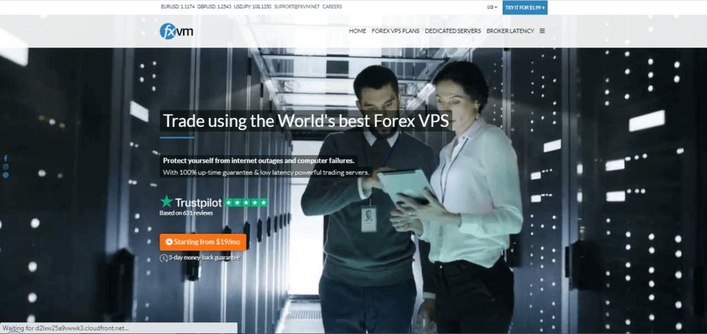 FXVM Forex VPS geautomatiseerd platform