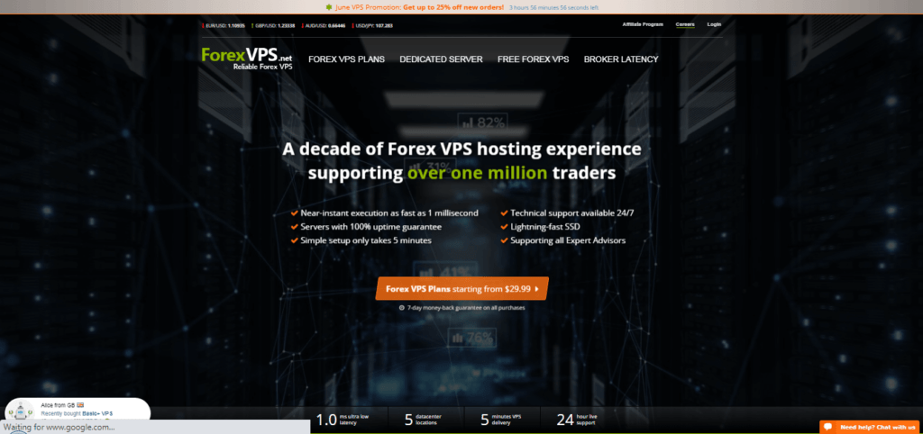 Forex VPS Automated VPS Signal Provider
