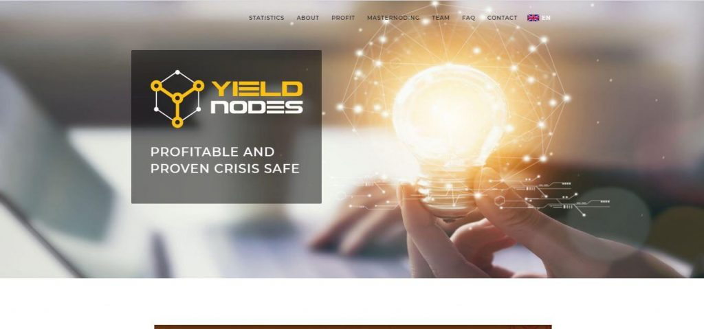 Yieldnodes Masternoding-Investitionsoption