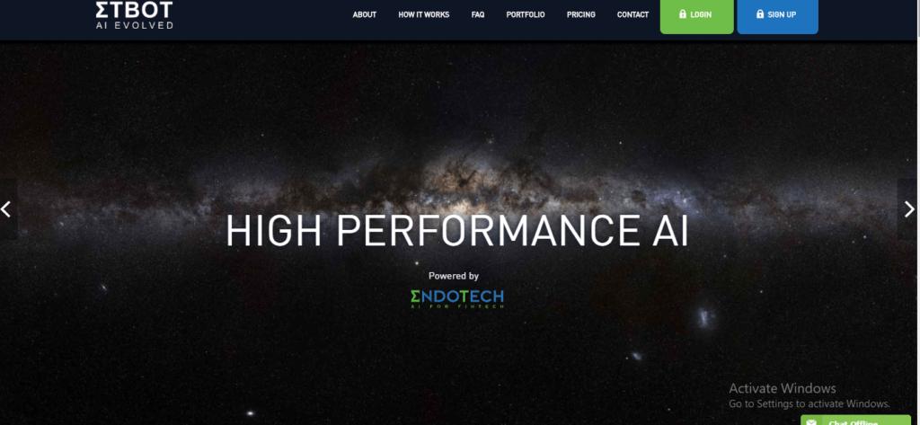 ETBOT Platform, Etbot.io Platform