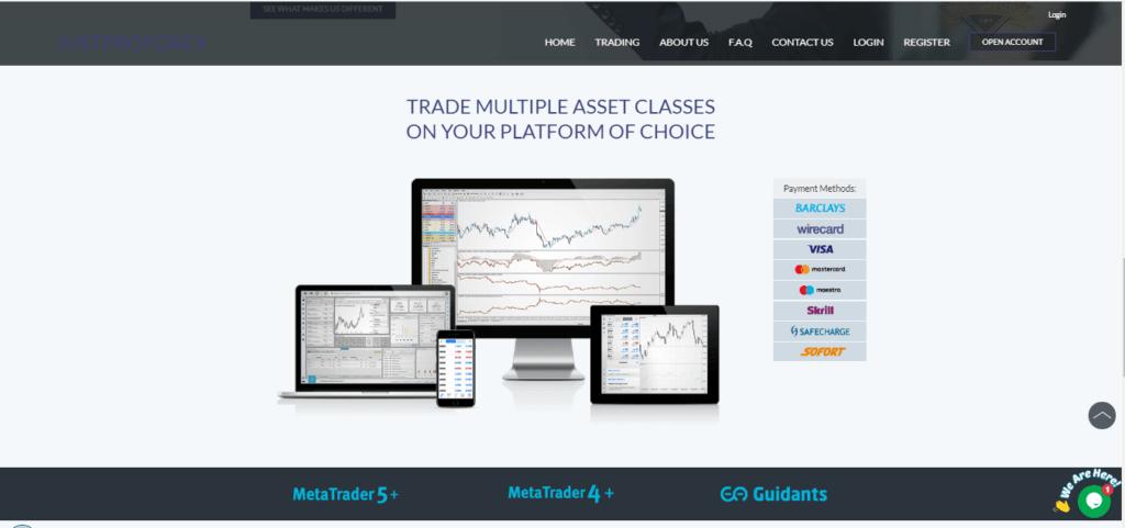 JustProForex Trading Platform