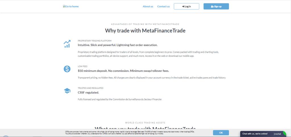 MetaFinanceTrade False Claims