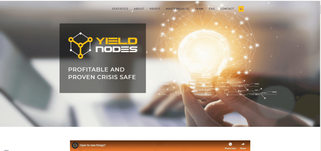YieldNodes Coin High Yield-program