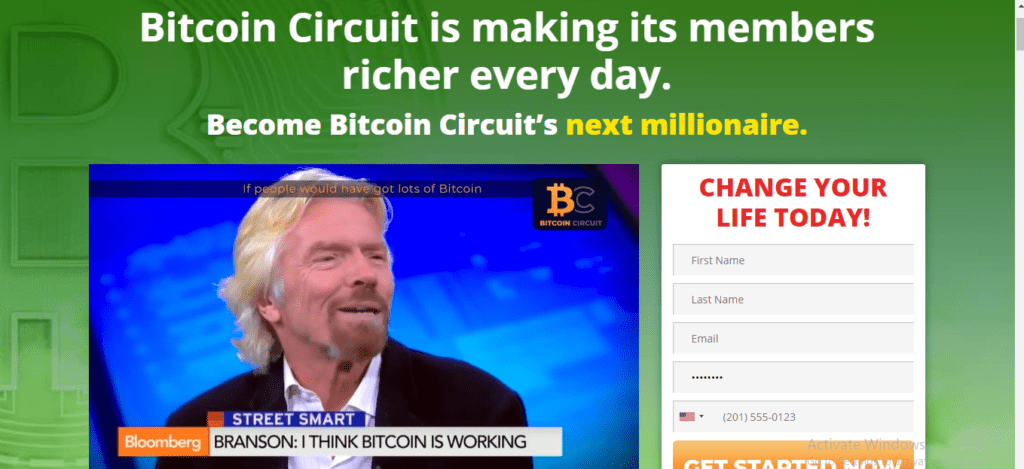 Bitcoin Circuit Review, Bitcoin Circuit Platform