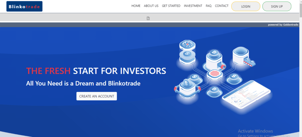 Blinko Trade Review, Blinko Trade Platform