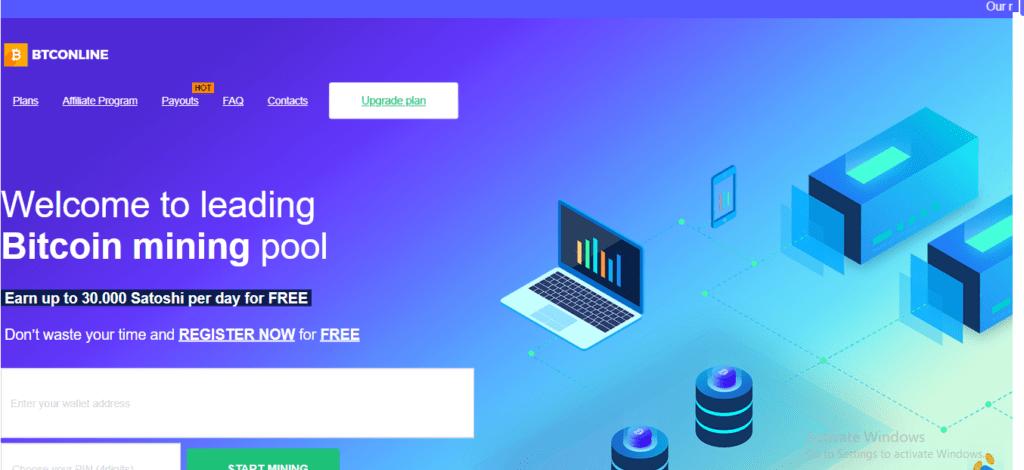 BTConline Scam Review, BTConline Platform