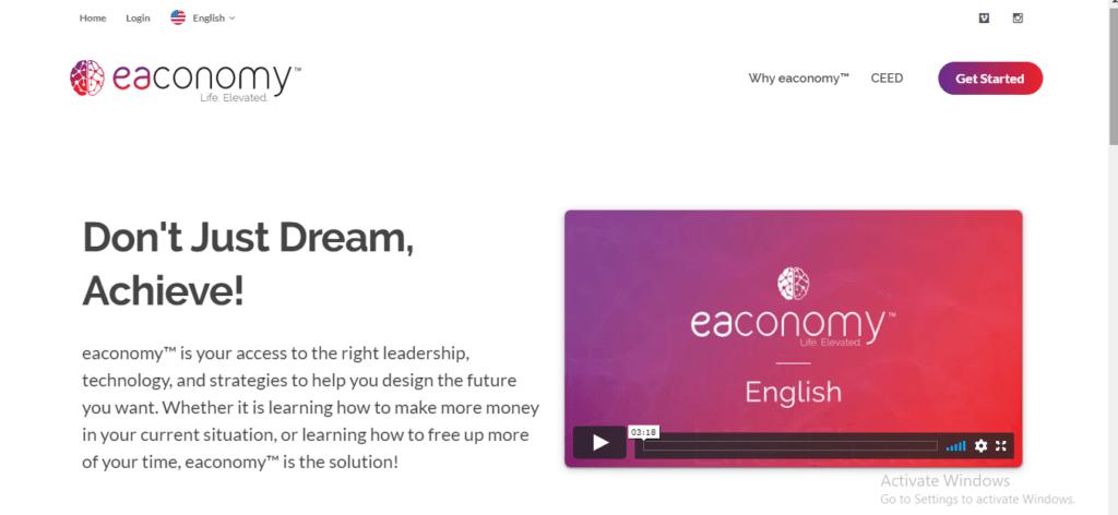 Eaconomy Scam Review: Eaconomy.com Platform