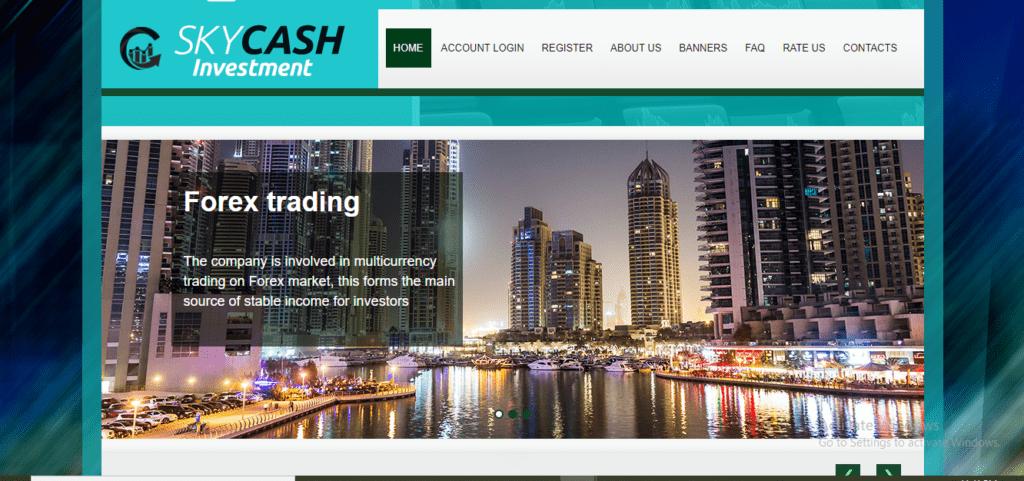 Sky Cash Scam Review, Sky Cash Investment Platform
