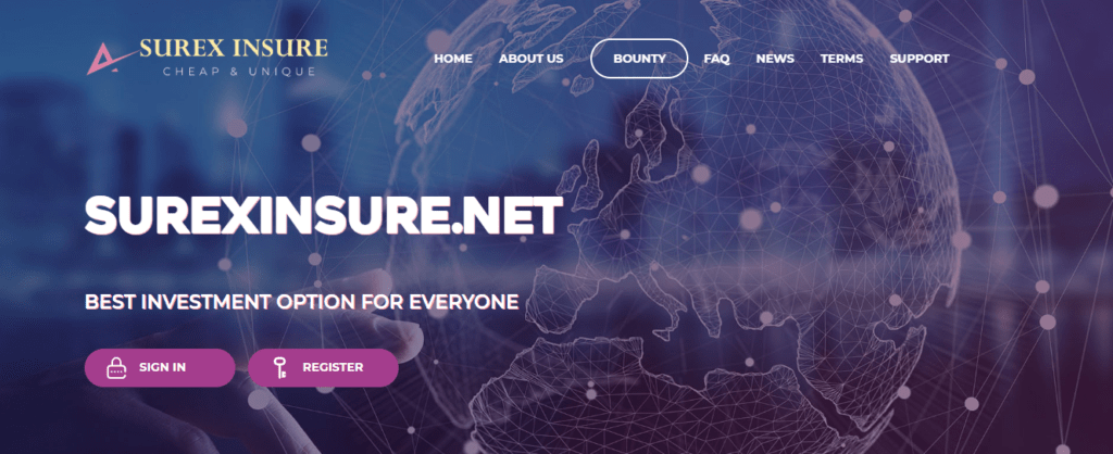 Surex Insures Review, Surexinsure.net Platform