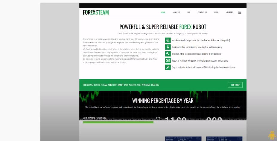 Forex Steam Review: ForexSteam.com bot Trading Scam ...