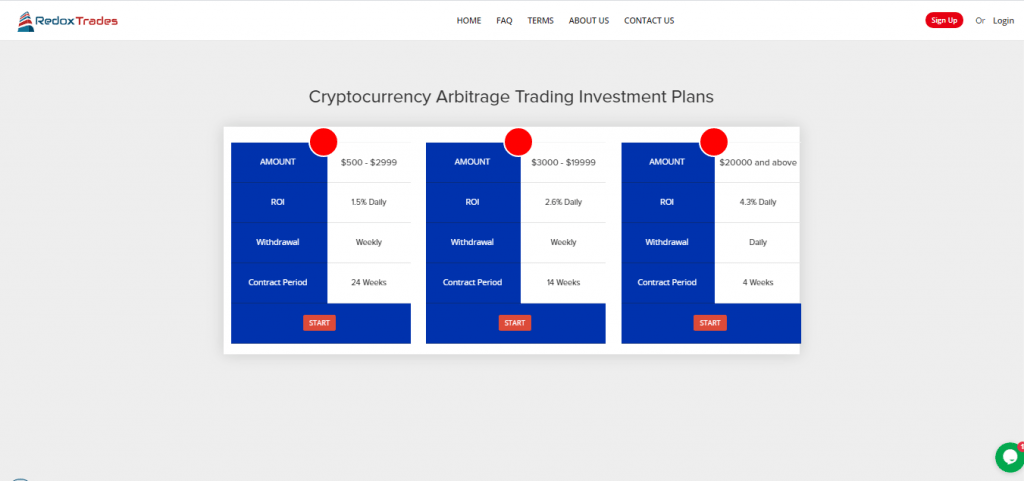 Redox Trades Crypto Plans