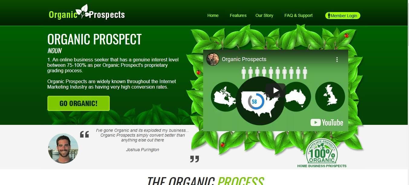 organic prospect review, organic prospect