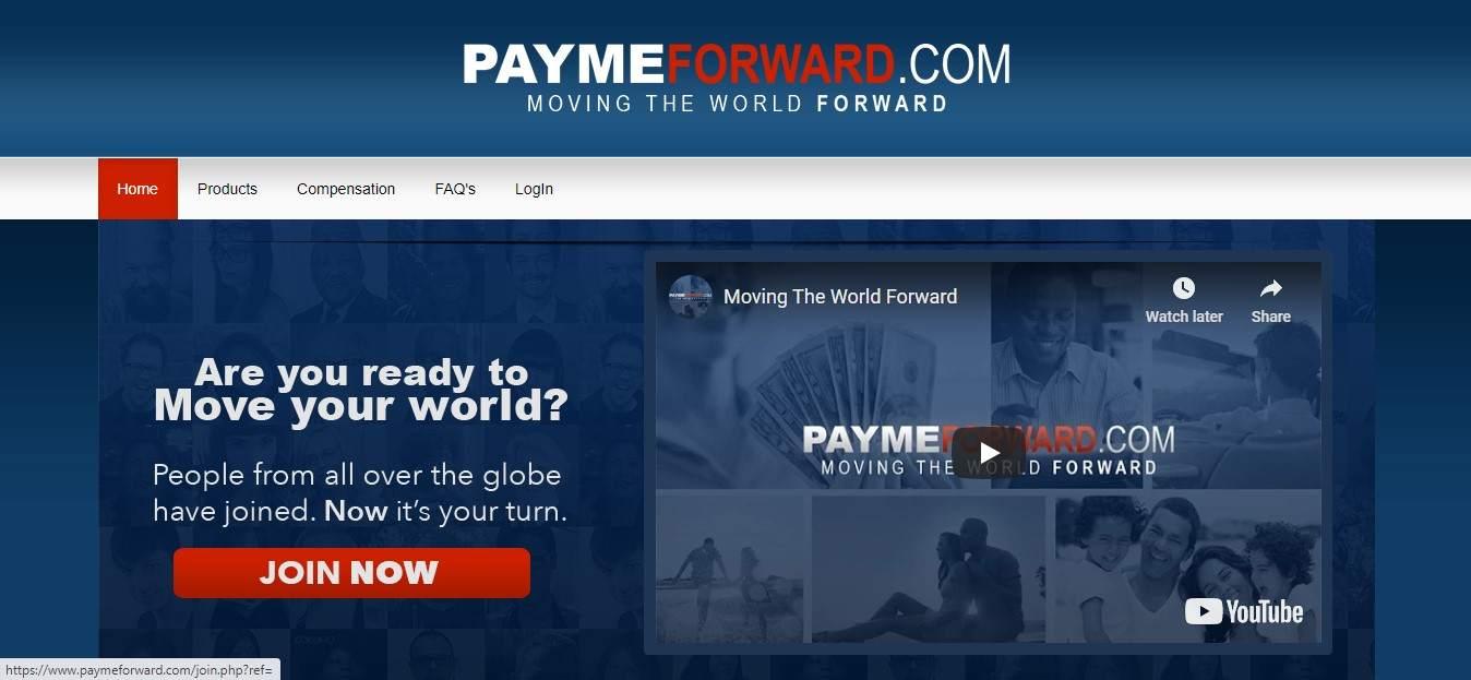 paymeforward review, paymeforward.com review
