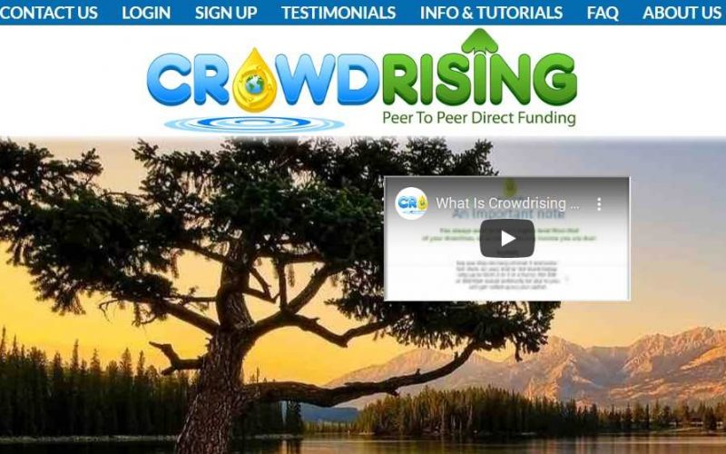 Crowd Rising Review, Crowd Rising MLM review, crowdrising.net review