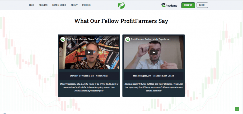 Profit Farmers Comments and Feedback