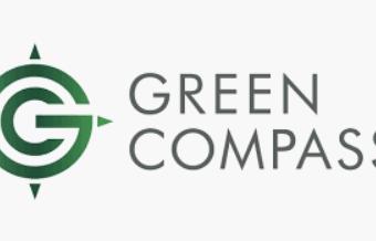Grüner Kompass