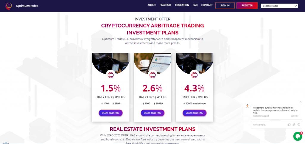 Optimale Trades-Krypto-Pläne