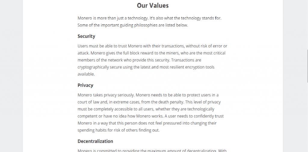 Monero Review, Monero Security