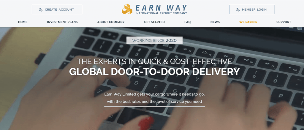 Earn Way Review, Earn Way Company