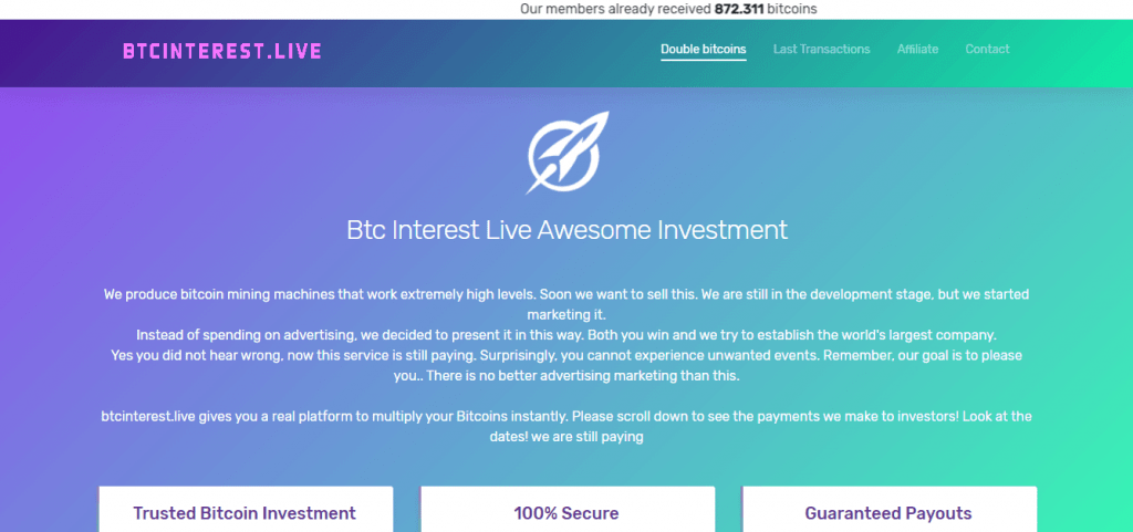 BTC Interest Live Review, BTC Interest Live Company