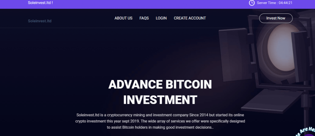 Soleinvest Review, Soleinvest Company