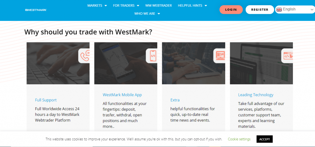 WestMark Review, WestMark Features