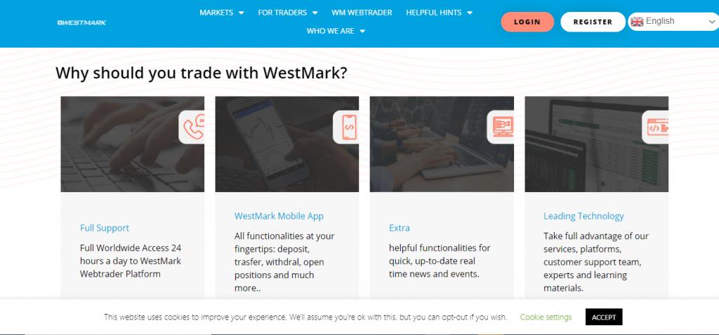 Revue de WestMark, caractéristiques de WestMark