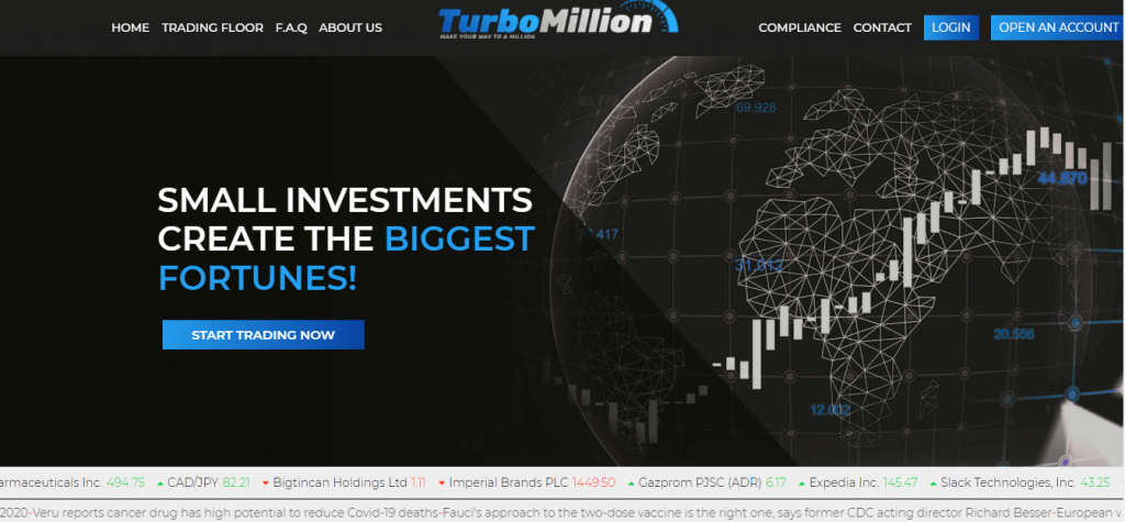 TurboMillion Review, TurboMillion Company