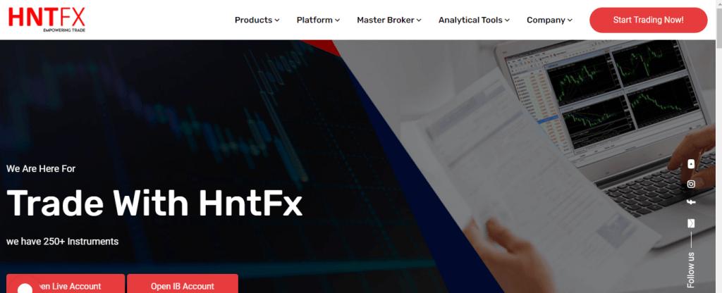 Revisión de HNTFX, Compañía HNTFX