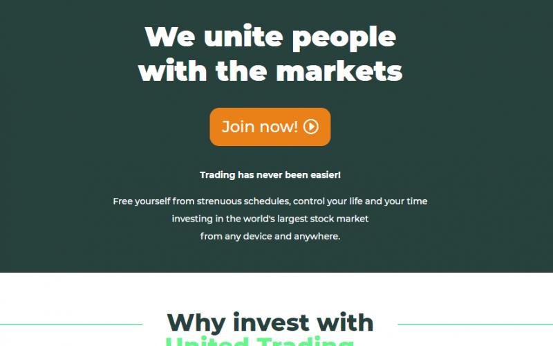 United Trading Review, Объединенная торговая компания