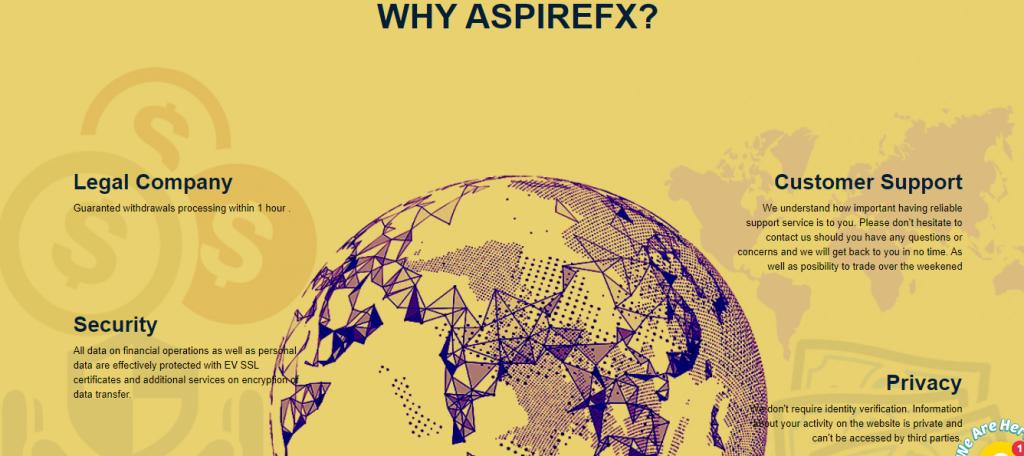 AspireFX Review, AspireFX-functies