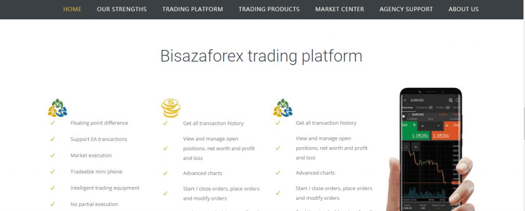 Bisazza Market Scam Review, Bisazza Market Features