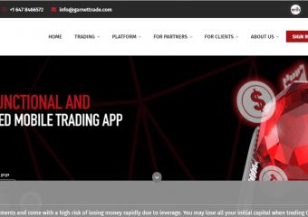 Garnet Trade Review, Garnet Trade Company