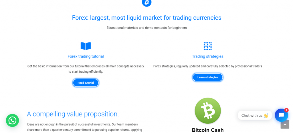 Procryptotradings.com Review, Procryptotradings Features