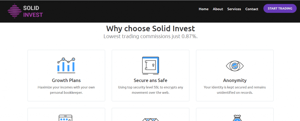 مراجعة احتيال الاستثمار الصلبة ، ميزات الاستثمار الصلبة