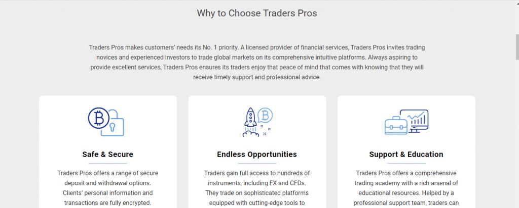 Condiciones comerciales de Tradersposts
