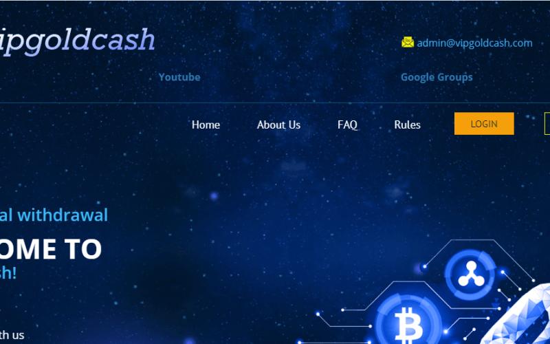 VipGoldCash Review, VipGoldCash Company