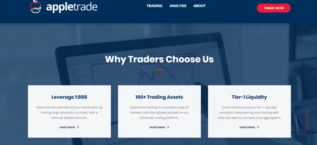 Appletrade.de Review, Appletrade Features