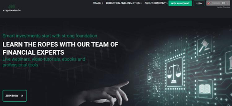 CryptoExTrade Review, CryptoExTrade Company