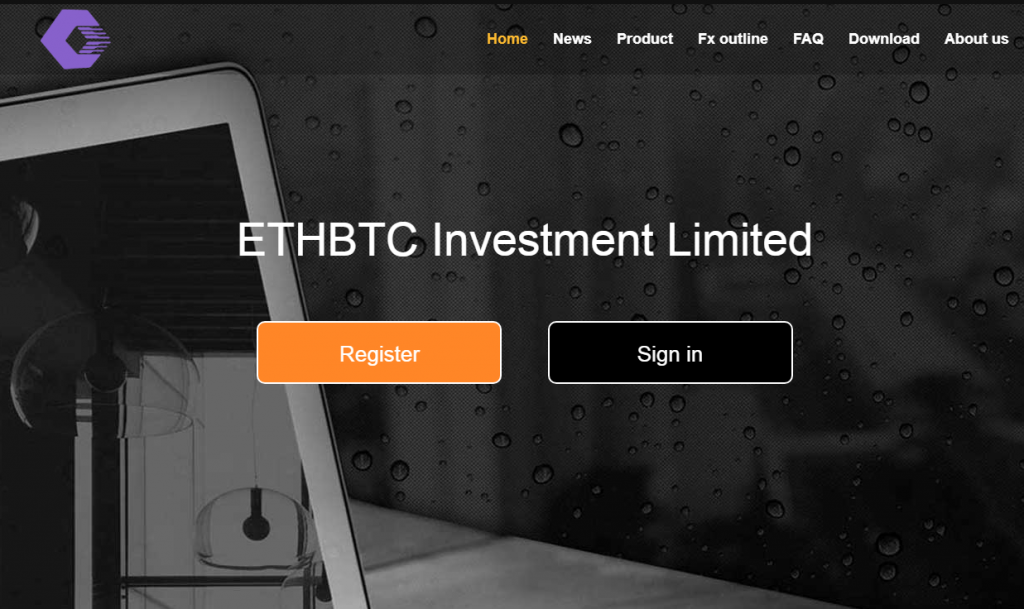 ETHBTC Investment Limited Review, ETHBTC Investment Limited Company
