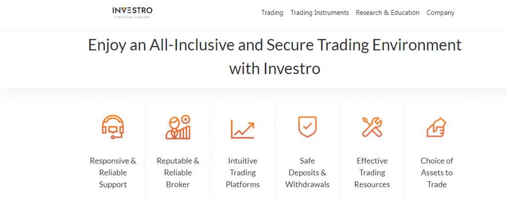 Investro.fm Scam Review, investro.fm Características