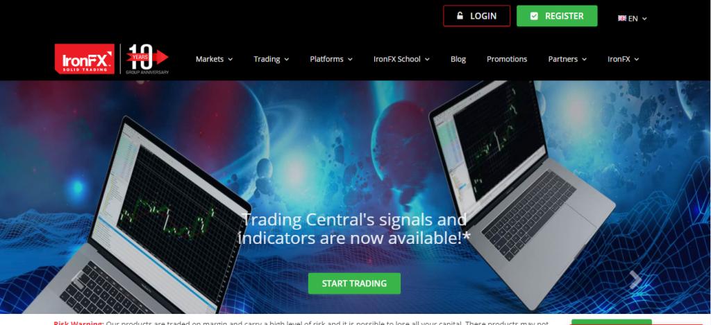 Ironefx Review, Ironefx Company