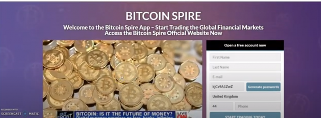 Bitcoin Spire Review, Bitcoin Spire Platform