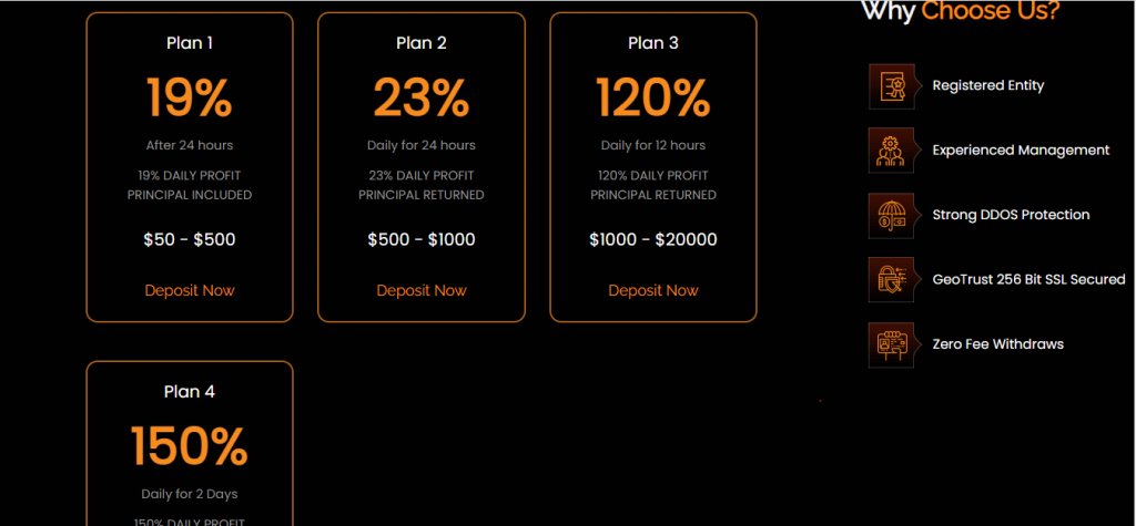 BTC-Earningzone.com Review, BTC-Earningzone.com Plan